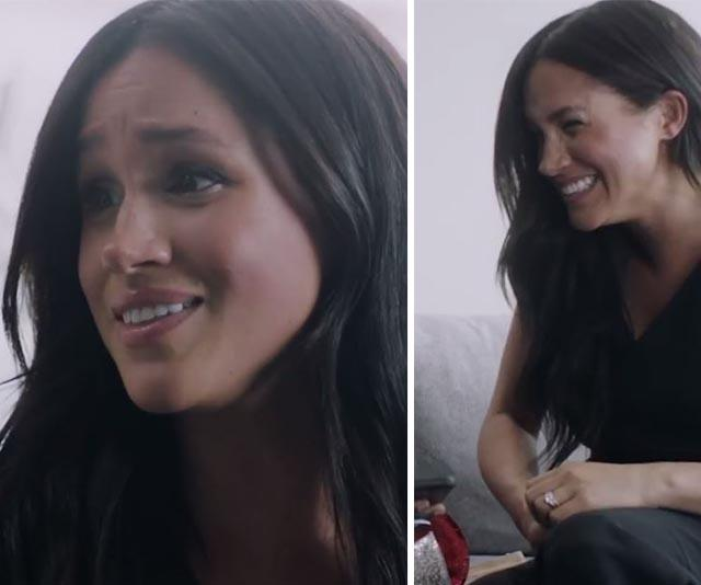 Meghan Markle shares a candid, new one-on-one video to celebrate incredible Vogue milestone