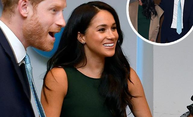 Prince Harry and Meghan Markle visit Stanford University for a surprise brainstorming session