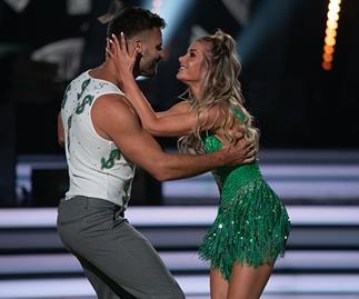 Beau Ryan can't keep his hands off Dancing With The Stars partner Megan!