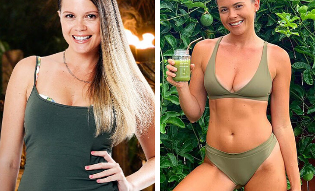 EXCLUSIVE: Survivor Australia's Flick Egginton reveals her 15kg weight loss