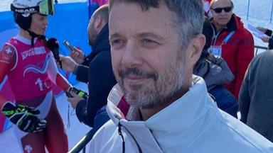 Crown Prince Frederik rushed to hospital after a skiing injury in Switzerland