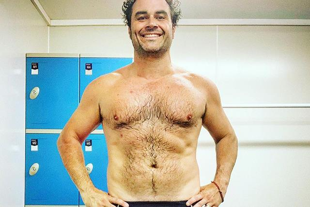 Celebrity chef Miguel Maestre shows off his incredible 18kg weight loss, but says he's still got a long way to go