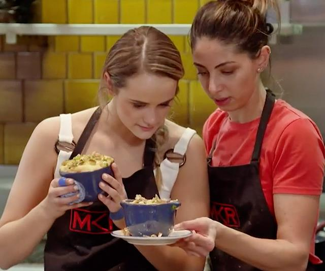 Did My Kitchen Rules' Mark plant a hair in Roula and Rachael's dish?