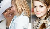Gorgeous new photo of Swedish Princess Estelle proves she's her mum's mini me