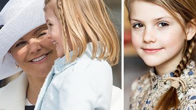 Gorgeous new photo of Swedish Princess Estelle proves she's her mum's mini me