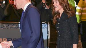 Duchess Catherine literally sparkles as she and Prince William celebrate a glorious date night in London