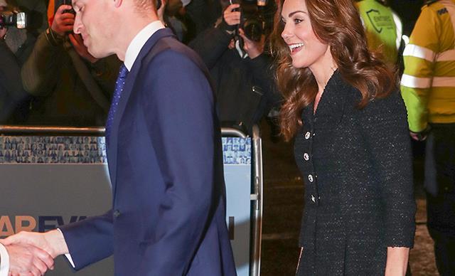 公爵夫人和公爵夫人,她在伦敦的王子和威廉·罗斯的生日