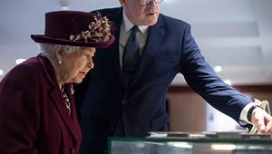 The Queen pays a secret visit to MI5 headquarters and learns how her father helped Britain win WWII