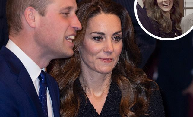 There's a telling two-second clip of Kate looking at Wills that's sent fans into meltdown