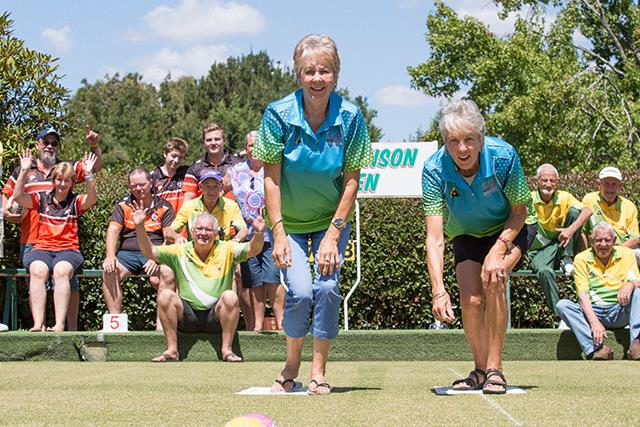 REBUILD OUR TOWNS: The townsfolk of Batlow are bowling their way back from the bushfires