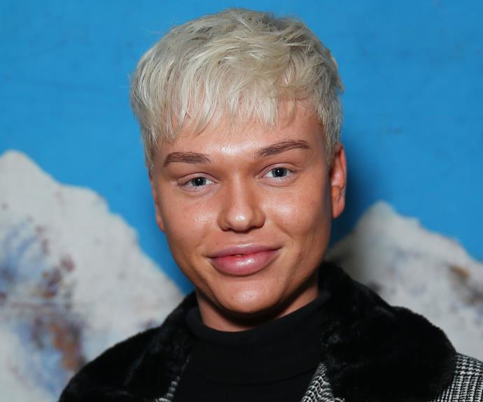 Jack Vidgen at media call for Eurovision 2020