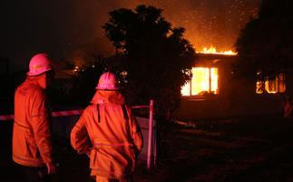 Batlow bushfire family's new pain: Scammers stole our kind friends' donations