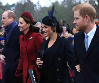 Palace confirms Harry & Meghan will make an emotional appearance with Kate & Wills- but it'll likely be their last together