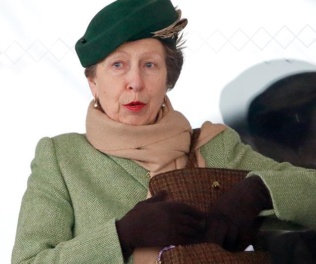 Princess Anne achieves the impossible by casually jumping on a London tube - and no one batted an eyelid
