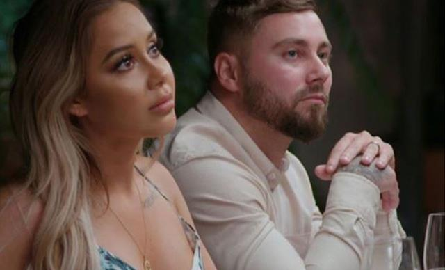 """EXCLUSIVE: Married At First Sight's Cathy """"took off"""" after a fight with Josh"""