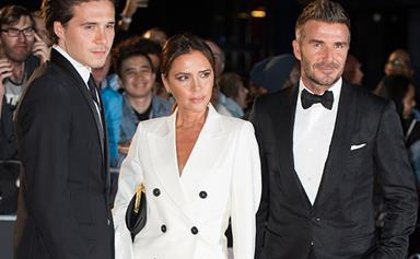 Brooklyn Beckham celebrated his 21st birthday in style with a cheeky surprise from parents David and Victoria Beckham