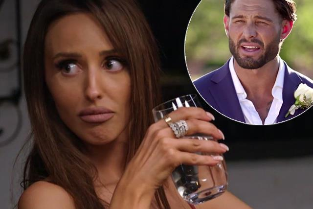 """EXCLUSIVE: Married At First Sight's Lizzie """"doesn't care"""" what her former husband Sam has to say about her"""