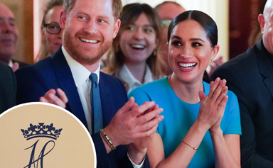 Big change to Prince Harry and Duchess Meghan's official thank-you card gives fans a clue as to what their post-Megxit life will look like