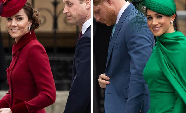 The Fab Four finale! Kate & Wills join Meghan & Harry for last appearance as senior royals