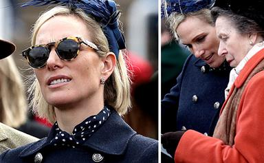 While the world watched Meghan and Kate yesterday, Zara Tindall was pulling off the ultimate fashion win