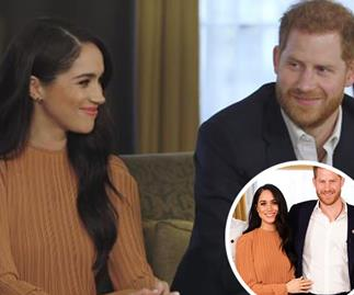 Meghan & Harry drop heartwarming new footage from secret meeting held at Buckingham Palace