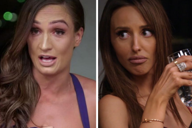 EXCLUSIVE: MAFS Lizzie says she's appalled she ''launched herself'' at Hayley in ''aggressive'' fight