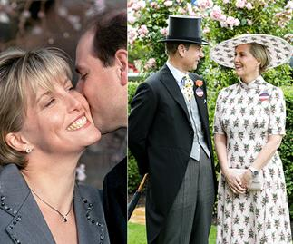 Prince Edward and Countess Sophie of Wessex's royal love story in pictures