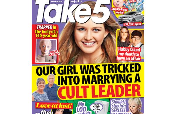 Take 5 Issue 11 Online Entry Coupon