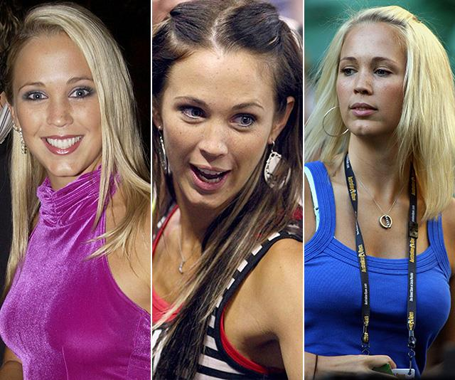 The many hues of Hewitt: Former Home and Away star Bec Hewitt's hair transformation needs to be seen to be believed