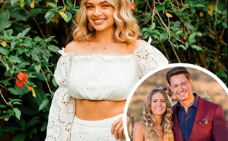 """EXCLUSIVE: Abbie Chatfield admits she was """"scared"""" to sign up for Bachelor in Paradise after Matt Agnew broke her heart"""