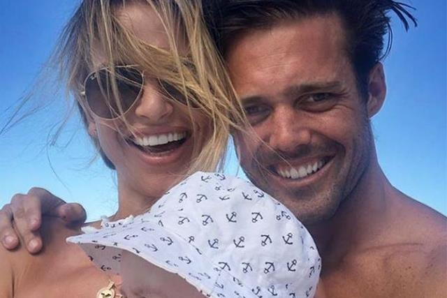 Pippa Middleton's brother-in-law Spencer Matthews announces baby news with wife Vogue Williams