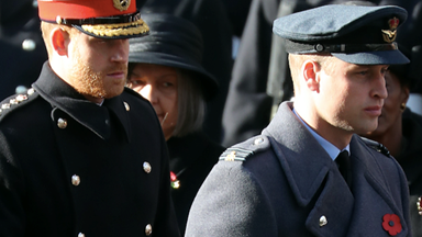 How Prince William and Prince Harry are stepping up as the Queen and Prince Charles go underground