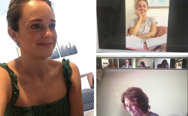 The Home And Away cast are now rehearsing in isolation amid COVID-19, and how do we join this video call?