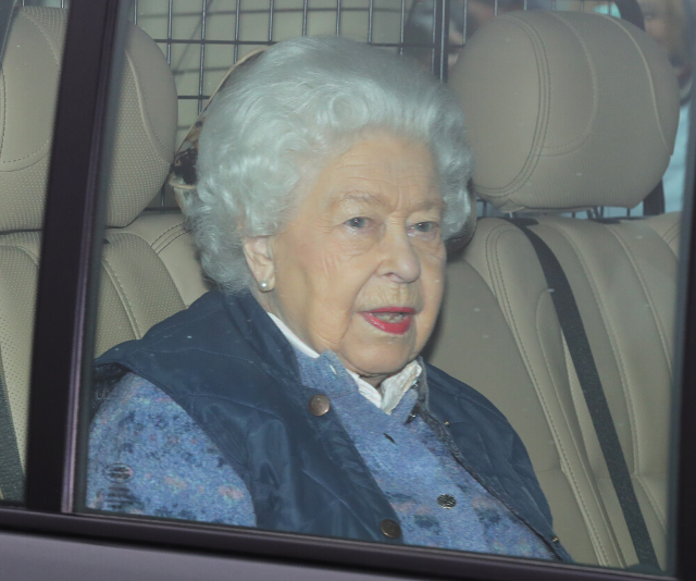 The Queen was taken to Windsor Castle on Thursday.