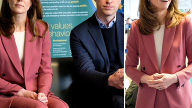 In a royal first, Kate Middleton's heavenly (and affordable) Marks & Spencer suit hasn't sold out online