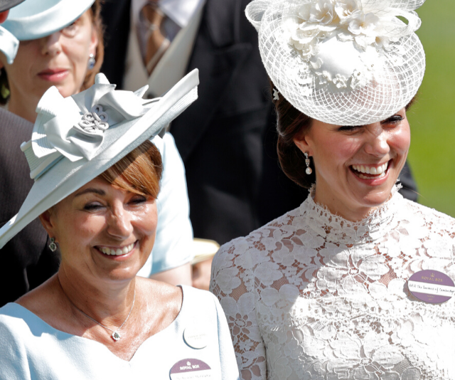 Duchess Catherine is just like her mother Carole Middleton - and not just when it comes to looks