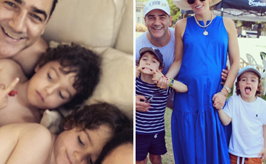 Nova radio host Wippa's wife Lisa Wipfli welcomes their third baby