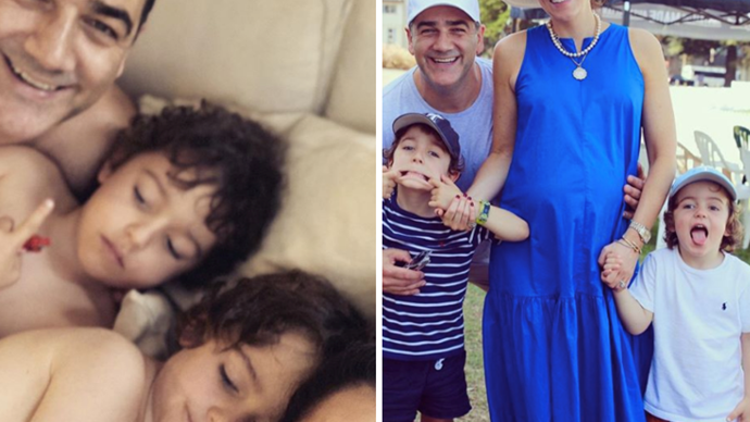 Nova radio host Wippa's wife Lisa Wipfli welcomes their third baby