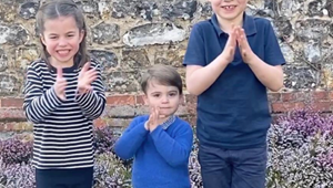 A rare video of Prince George, Princess Charlotte and Prince Louis clapping for nurses and doctors amid COVID-19 is the purest thing you'll see today