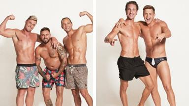 EXCLUSIVE PHOTOS: The MAFS grooms bare all in sexy photoshoot as they reveal their biggest regrets about going on the show