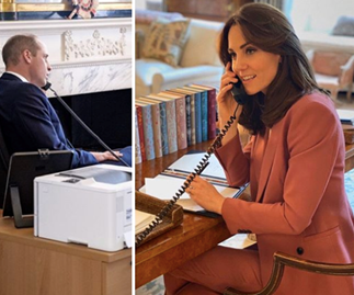 Duchess Catherine & Prince William's rare photo inside Kensington Palace reveals a lot about their quarantined life in the UK