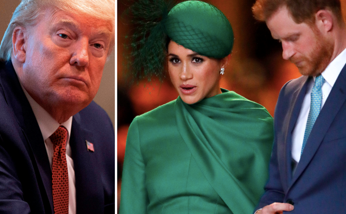 Prince Harry and Meghan quietly hit back at Donald Trump with a dignified answer after he refuses to foot their security bills