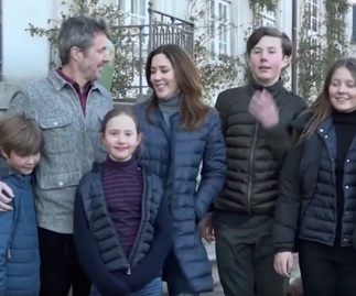 Crown Princess Mary and her family share a beautiful home video from quarantine with a personal touch