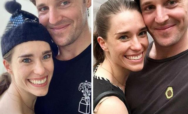 Lachlan Gillespie and Dana Stephensen
