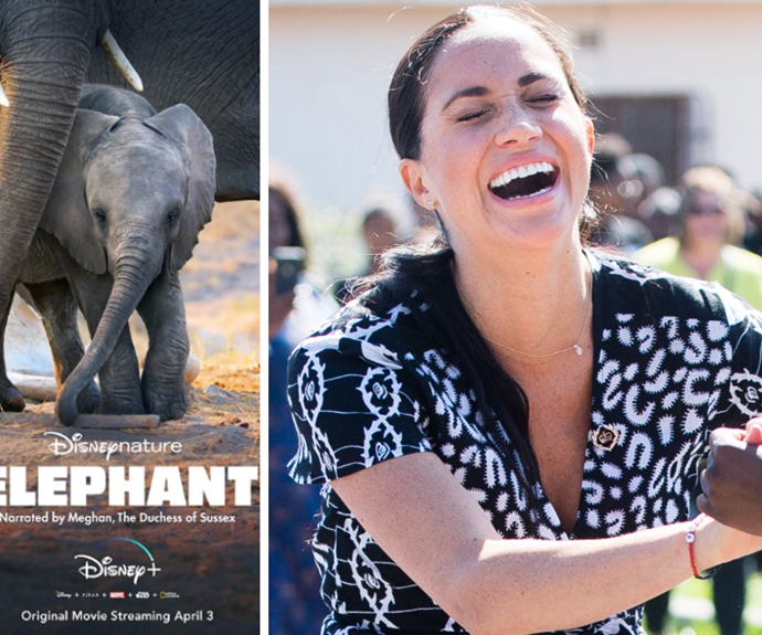 Where to watch Meghan Markle's first Disney film, Elephant, from Australia
