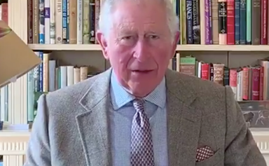 Prince Charles is seen for the first time since coronavirus diagnosis in a rare home video from isolation