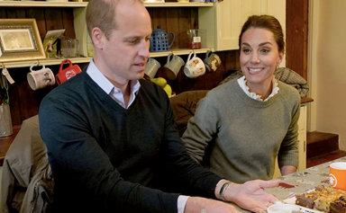 Duchess Catherine and Prince William surprise health workers on the frontline with phone calls from their country home
