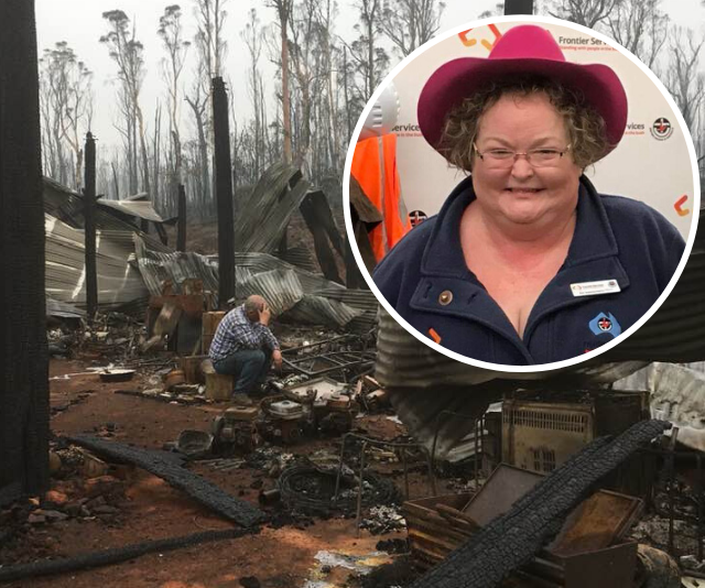 REBUILD OUR TOWNS: How one woman is helping Victoria's Swifts Creek rebuild after devastating bushfires