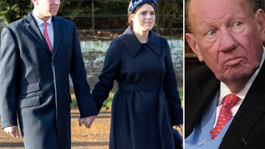 "Princess Eugenie's father-in-law in ""intensive care"" after testing positive for Coronavirus"