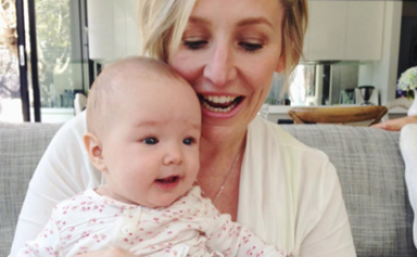 Fifi Box celebrated her daughter Trixie's birthday with the sweetest throwback photos and one amazing homemade cake